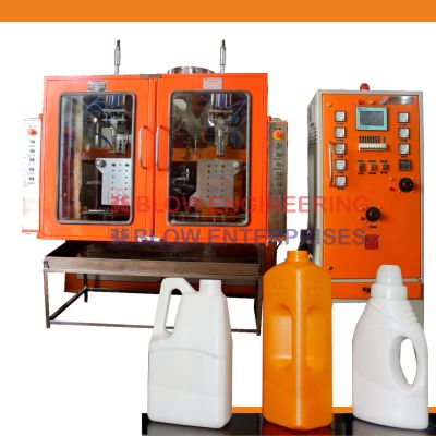 Double Station High Speed Plastic Blow Molding Machine