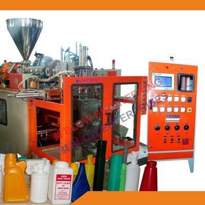 Twin Cavity Auto Deflashing Blow Molding Machine 02
