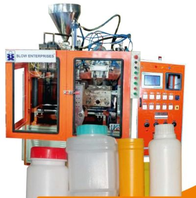 Twin Cavity Auto Deflashing Blow Molding Machine 03