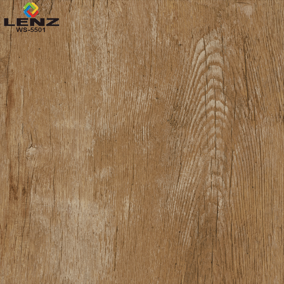 Wooden Finish Digital Glazed Vitrified Floor Tiles 600x600 Mm