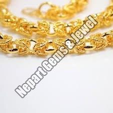 24 Karat Gold Necklace