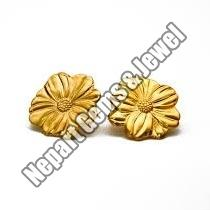 24 Karat Gold Earrings