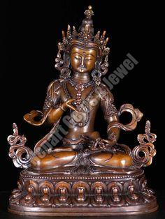 Copper Bodhisattva Vajrasattva Statue