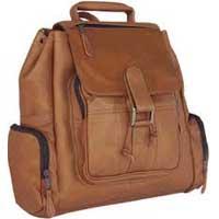 Leather Backpack Bag 001