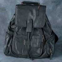 Leather Backpack Bag 002