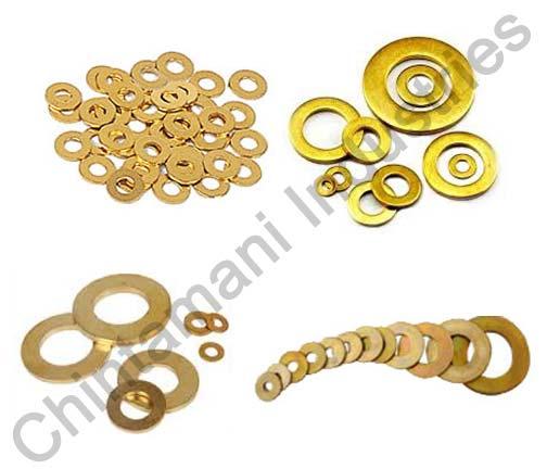 Brass Plain Washers