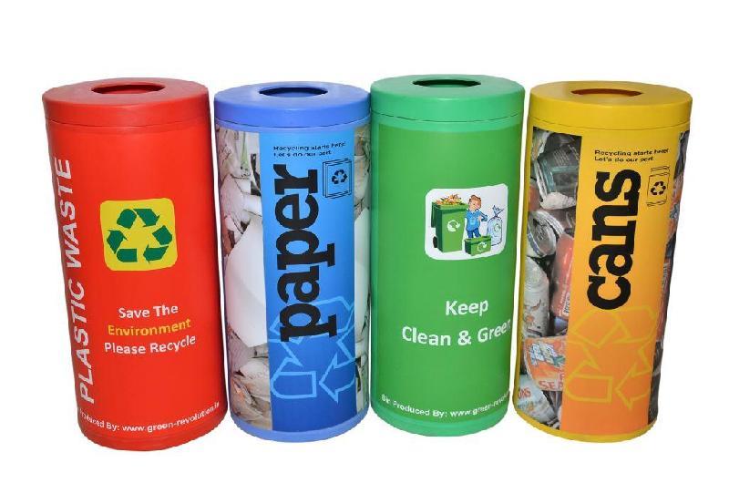 Color Coded Bin 72L Plastic