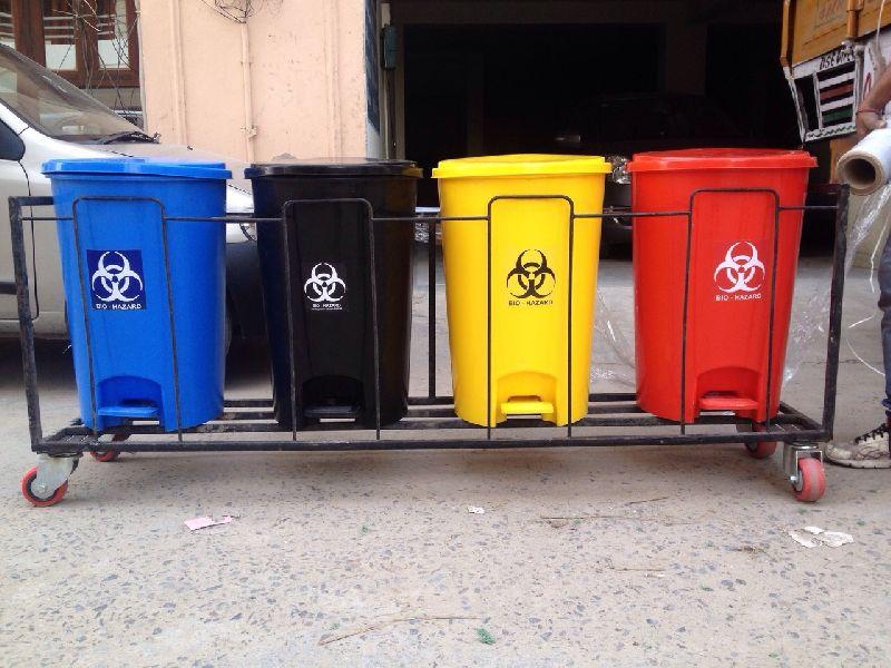 Medical Waste BinTrolley