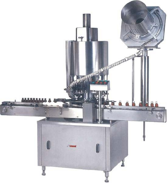 Fully Automatic Bottle Cap Sealing Machine