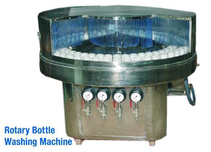 Rotary Bottle Washing Machine (STD Model)