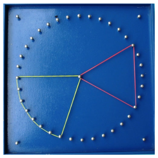 Double Sided Geoboard