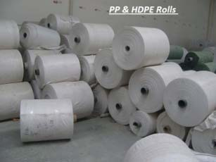 HDPE & PP Woven Unlaminated Fabric