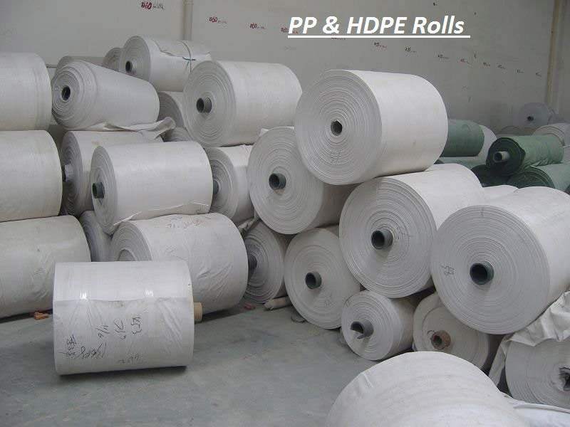 PP & HDPE Laminated Rolls