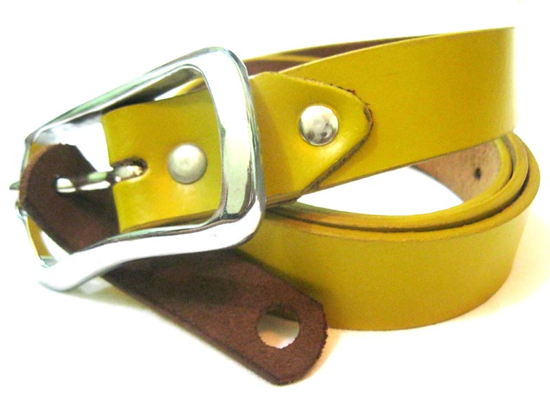 Ladies Casual Leather Belts