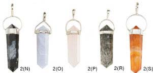 Silver Plated Metal Pendants
