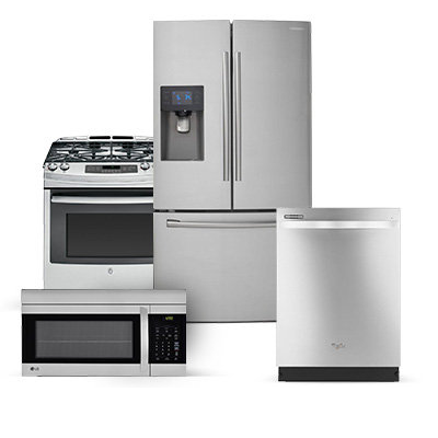 Samsung Appliance With Stainless Steel Gas Range