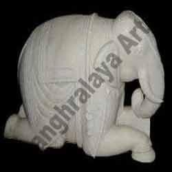 Marble Elephant Statue 11