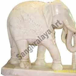 Marble Elephant Statue 13