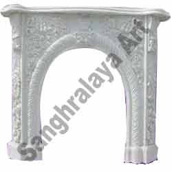 Decorative Stone Fireplace 02