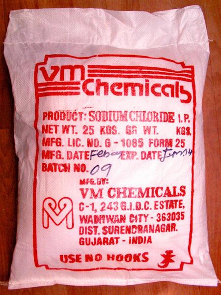 Sodium Chloride IP BP