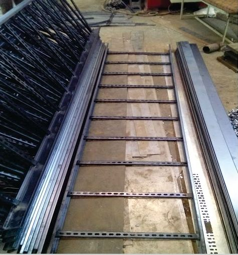 Mild Steel Perforated Ladder 02