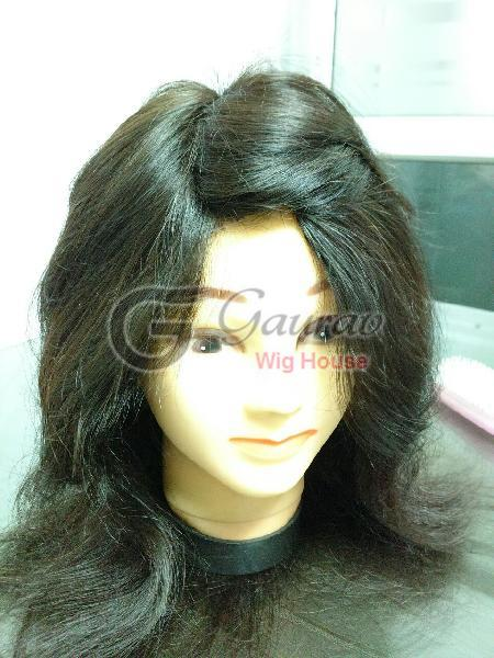 Natural Color Hair Women Wig 02