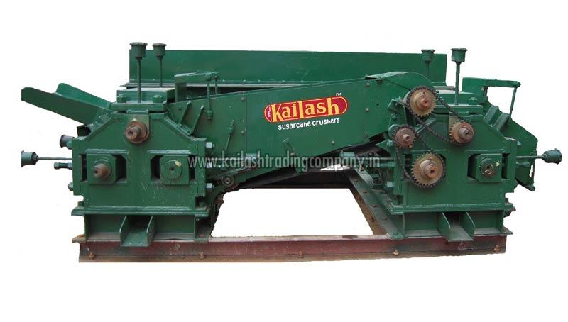 Sugarcane Crusher Double Mill