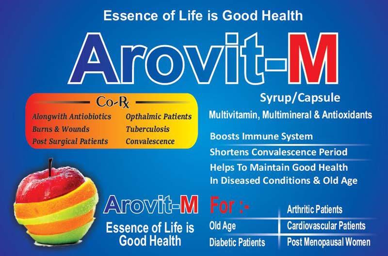 Arovit-M Medicine