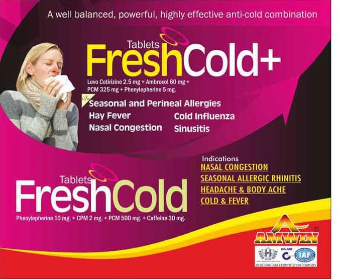 Freshcold+ Tablets