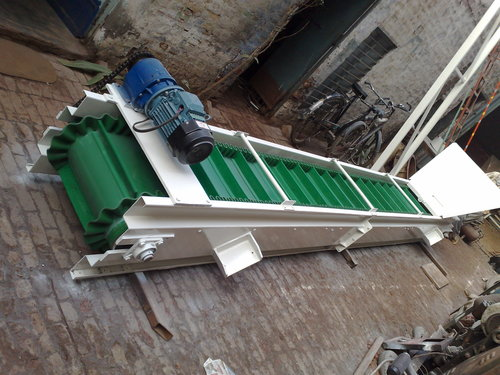 Sidewall Cleated Belt Conveyor 02