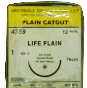 Plain Catgut Suture