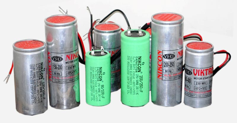 Electrolytic Start Capacitors