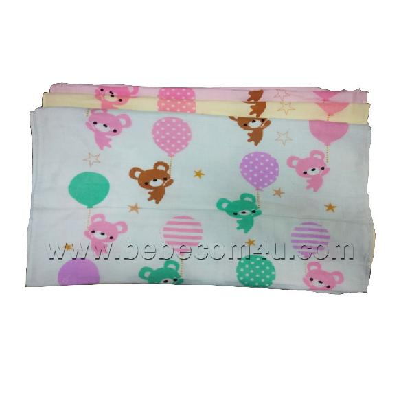 Balloon Printed Baby Towel (B7281)
