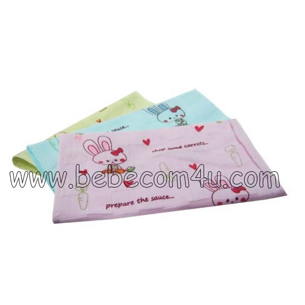 Rabbit Printed Baby Towel 01