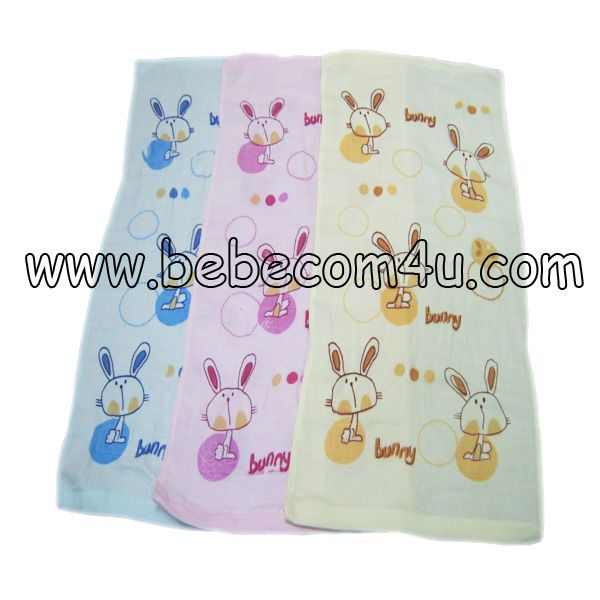 Rabbit Printed Baby Towel 02