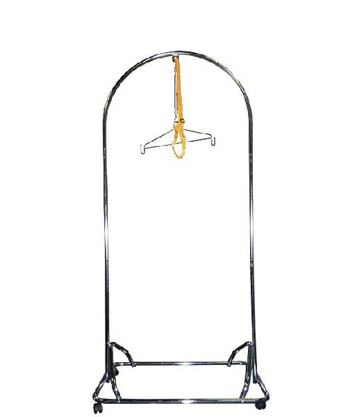B6052 Round Baby Cradle Chrome Stand