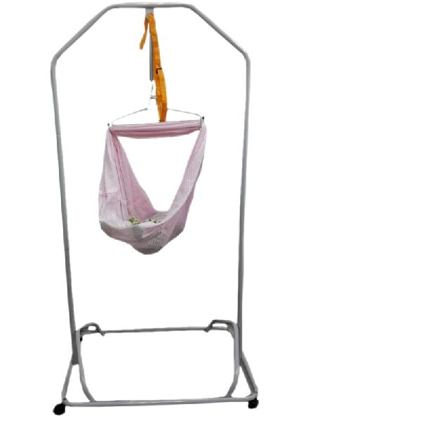 B6054 Baby Cradle Silver Stand