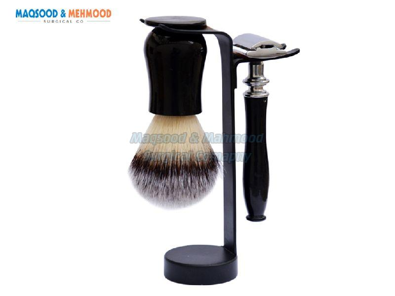 Wooden Shaving Set 02