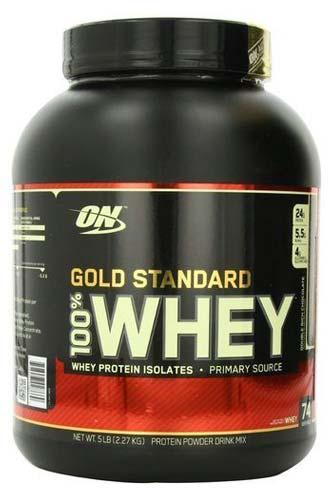 On 100% Whey Gold Protein Powder