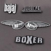 Two Wheeler Name Plates