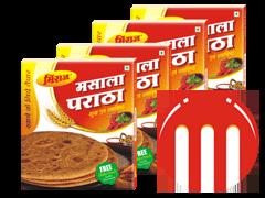 4 Combo Pack Masala Paratha