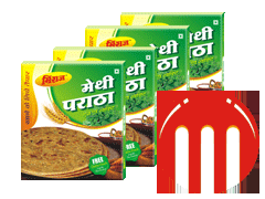 4 Combo Pack Methi Paratha