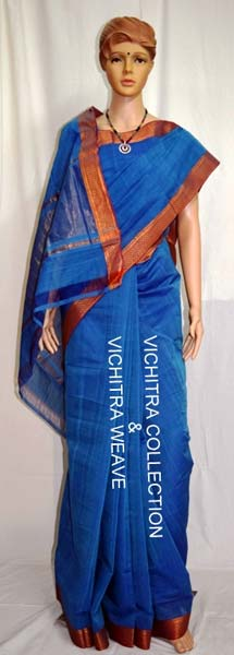 Hand Woven Cotton Sarees