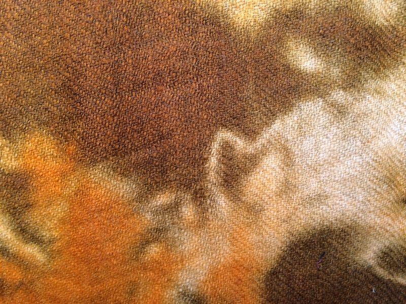 Hand Woven Khadi Woolen Fabric 06