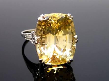 Yellow Sapphire Stone 02