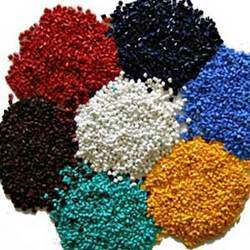 Colored LDPE Granules