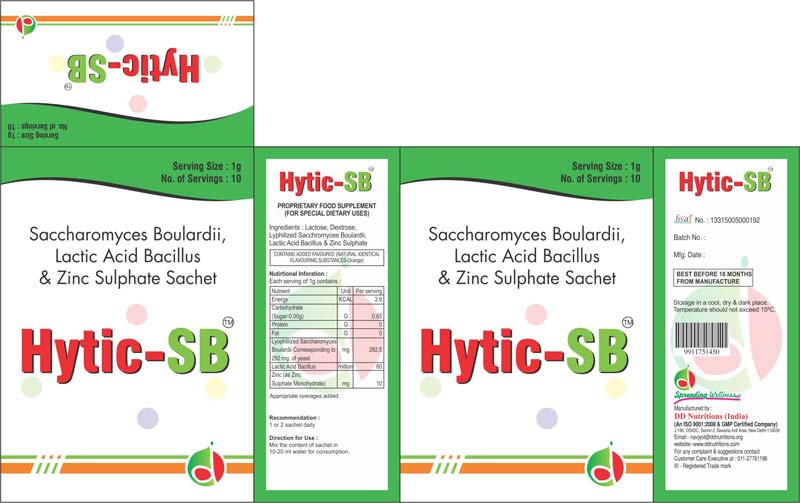 Hytic-SB Sachet