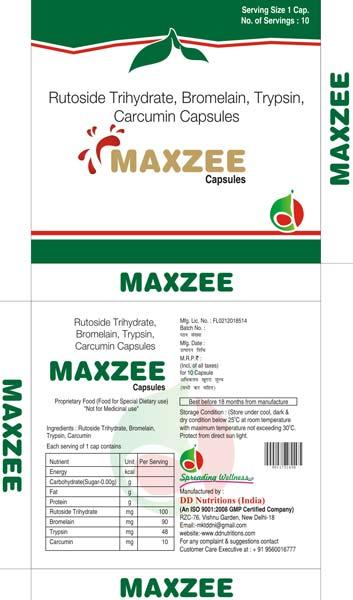 Maxzee Capsules