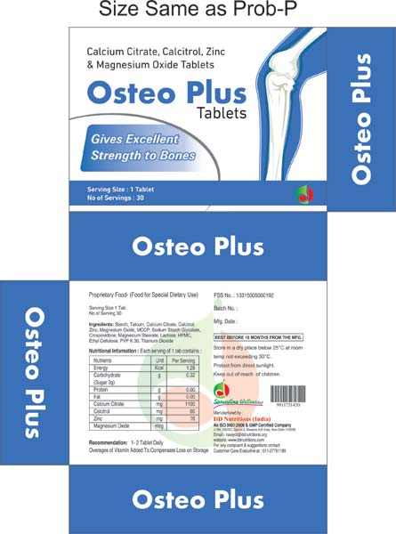 Osteo Plus Tablets