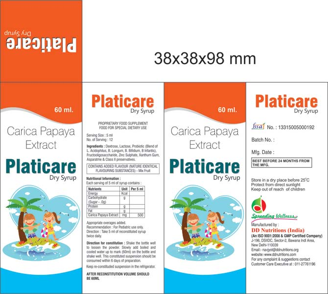 Platicare Dry Syrup